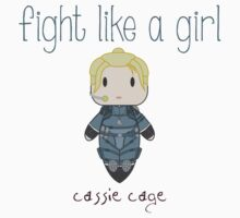 Fight Like a Girl - Mortal Kombat's Cassie Cage Kids Clothes