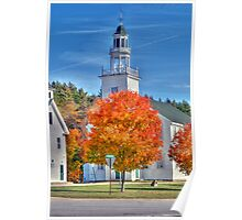 Town Hall in Washington, New Hampshire  Poster