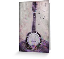 Mandolin Magic Greeting Card