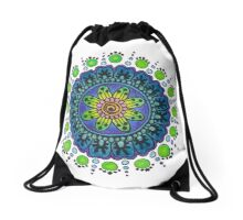 Prototype Mandala 2 Drawstring Bag