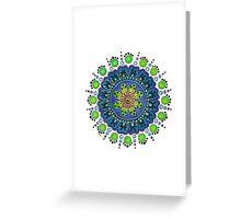 Prototype Mandala 2 Greeting Card