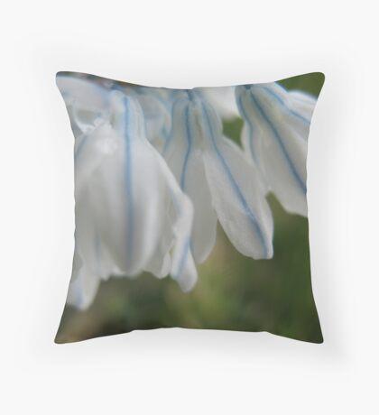 Dapper Flower Throw Pillow