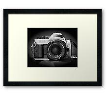 Canon Hybrid AE-1/ Rebel XT (F/DSLR) Framed Print