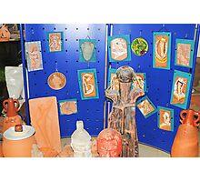 sculptures in ceramic F.K 33 Photographic Print