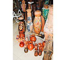 sculptures in ceramic F.K 32 Photographic Print