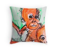 rangi babe Throw Pillow
