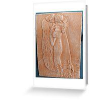 sculptures in ceramic F.K 26 Greeting Card