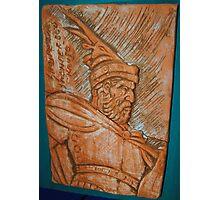 Our national hero Skanderbeg F.K24 Photographic Print