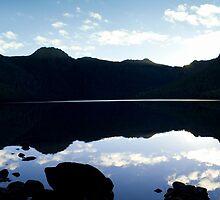 Blue sunset @ The Lake by Anthony Davey
