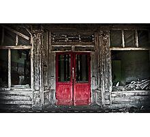 red doors Photographic Print