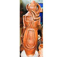 Ceramic sculptures F.Kalemi 21 Photographic Print
