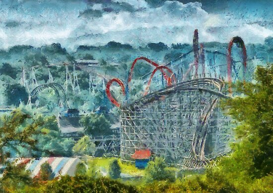 Americana - The thrill ride by Mike  Savad