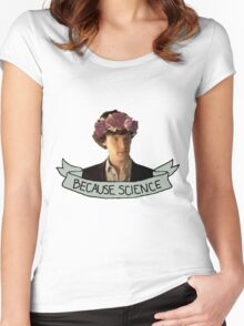 Because Science, Jawn Women's Fitted Scoop T-Shirt
