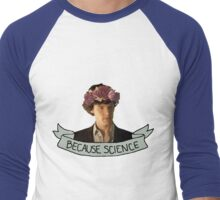 Because Science, Jawn Men's Baseball ¾ T-Shirt