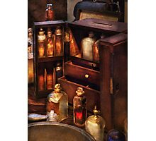 Doctor - The medicine cabinet Photographic Print