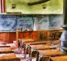 Teacher - Pay attention in class by Mike  Savad