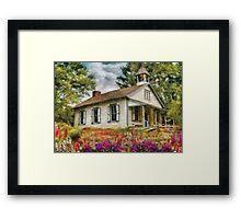 Teacher - The School House Framed Print