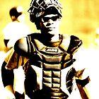 a catcher's look... by Allan  Erickson