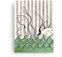 The Devil Fish's Daughter Canvas Print
