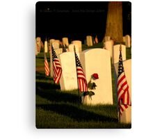 In Loving Memory Canvas Print