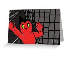 Japan Noir 10 - Evil Astro Greeting Card