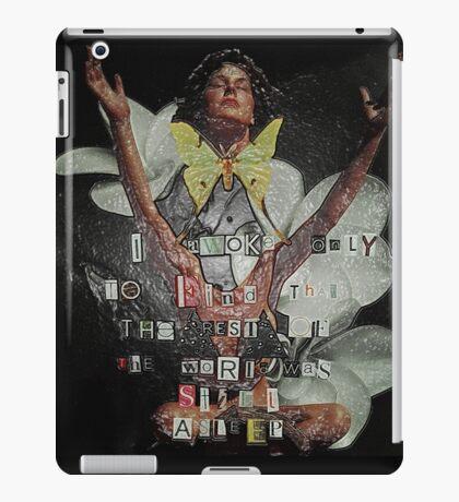 I Awoke - Leonardo da Vinci (Wrapped) iPad Case/Skin