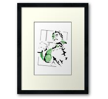 Hulk - Ultron Comic Framed Print