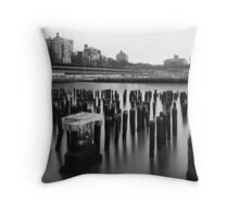 at the water's edge Throw Pillow