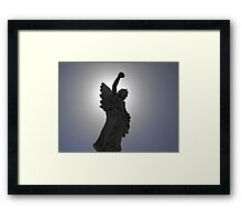 Angel of the Sun Framed Print