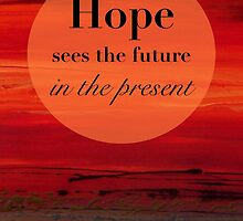 Hope Sees the Future by FroyleArt