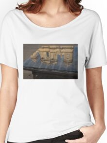 Reflecting on Noto and the Beautiful Sicilian Baroque Style Women's Relaxed Fit T-Shirt