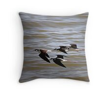 Black-Necked Stilts At Salton Sea Throw Pillow