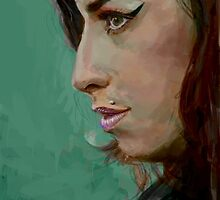 Amy Winehouse by Joe Humphrey