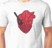 Hannibal - Fork In Heart Unisex T-Shirt