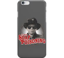 A Christmas Story - Ralphie and the Soap - Soap Poisoning - Christmas Movie Pop Culture - Holiday Movie Parody iPhone Case/Skin