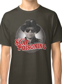 A Christmas Story - Ralphie and the Soap - Soap Poisoning - Christmas Movie Pop Culture - Holiday Movie Parody Classic T-Shirt