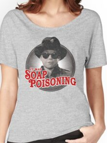 A Christmas Story - Ralphie and the Soap - Soap Poisoning - Christmas Movie Pop Culture - Holiday Movie Parody Women's Relaxed Fit T-Shirt