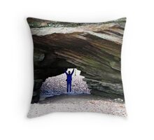 Hold Up! Throw Pillow