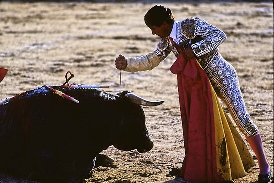 Bullfighting−11、SPAIN by yoshiaki nagashima