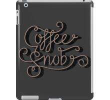 Coffee Snob iPad Case/Skin