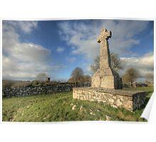 Dysert o Dea Celtic cross Poster