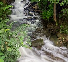 Socialvill-Foster Road Waterfall by Kenneth Keifer