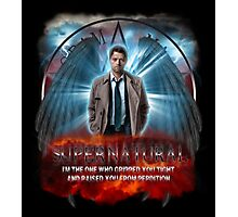 Supernatural I'm the one who gripped you tight and raised you from Perdition 3 Photographic Print