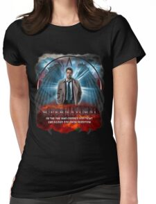 Supernatural I'm the one who gripped you tight and raised you from Perdition 3 Womens Fitted T-Shirt
