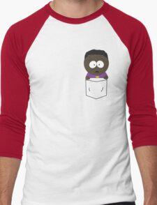 Pocket Token Men's Baseball ¾ T-Shirt