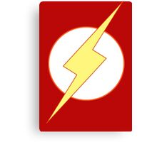 Simplistic Flash 2 Canvas Print