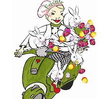 Scooter Baker Easter by Annie18c
