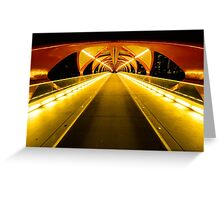 Light Tunnel Greeting Card