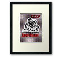 Soviet Hug Framed Print