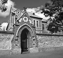 School Gate by Rob Beckett